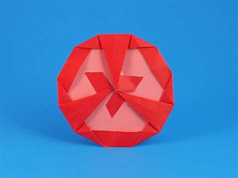 origami tomato origami fruit and vegetables gilad s origami page