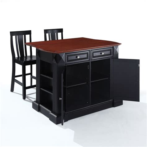 kitchen island black the attractive black kitchen island completed by back