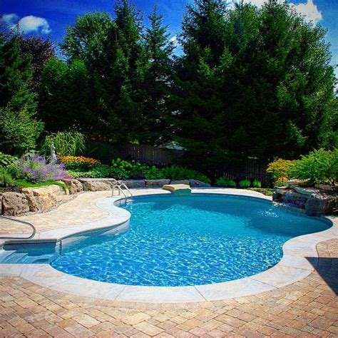 backyards with pool best 20 backyard pools ideas on swimming