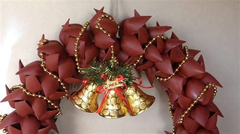 plastic decorations how to make wreath door decoration from