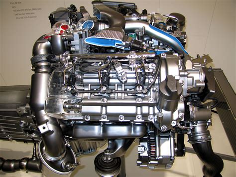 Motor Mercedes by File Mercedes E300 W211 Bluetech Engine 2 Jpg