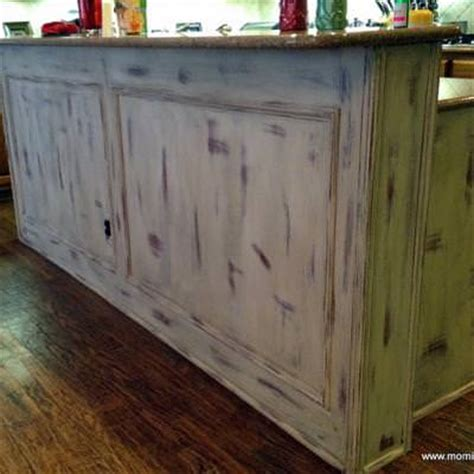 chalk paint island chalk paint kitchen island before and after tip junkie