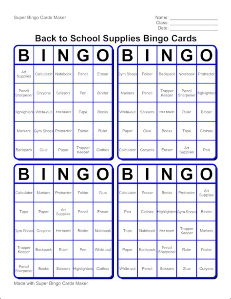 how to make bingo cards edubakery make a bingo cards with bingo