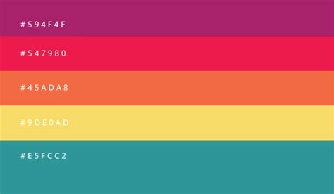 great colour combinations 8 awesome color combinations schemes for your 2016