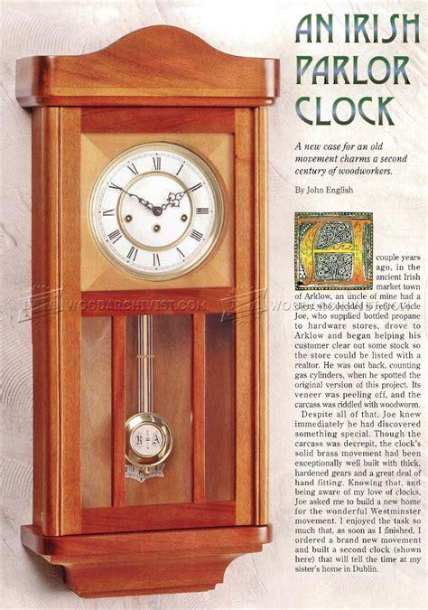 clock plans woodworking wall clock plans woodarchivist