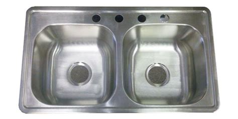 kitchen sinks for mobile homes 33 quot x19 quot stainless steel kitchen sink 6 quot d for mobile home
