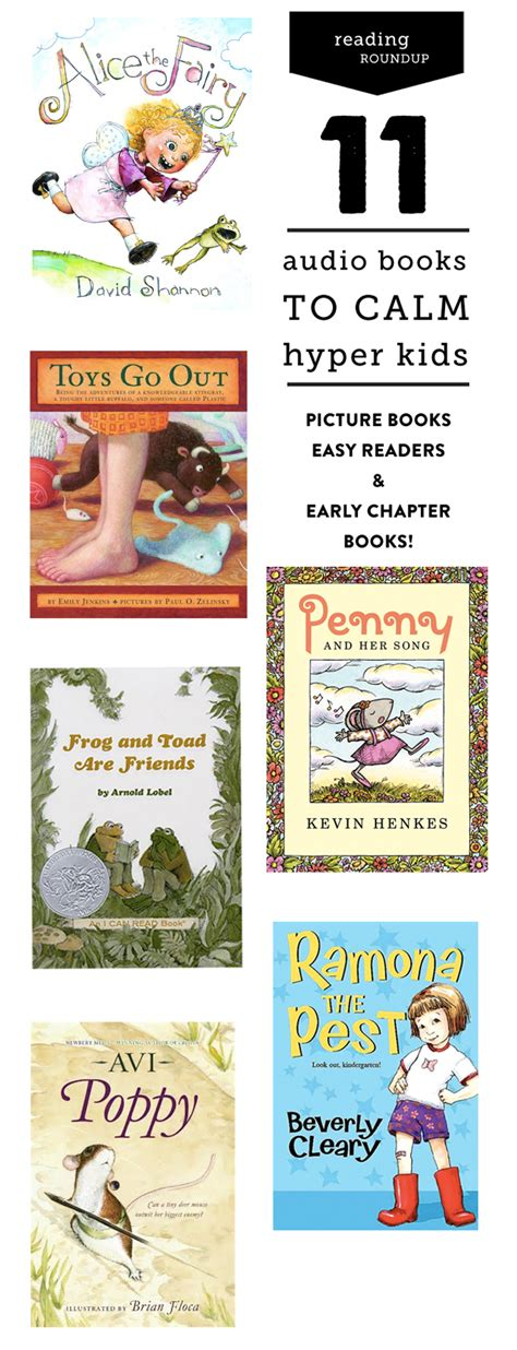 free children books with audio and pictures best audiobooks for calming hyper