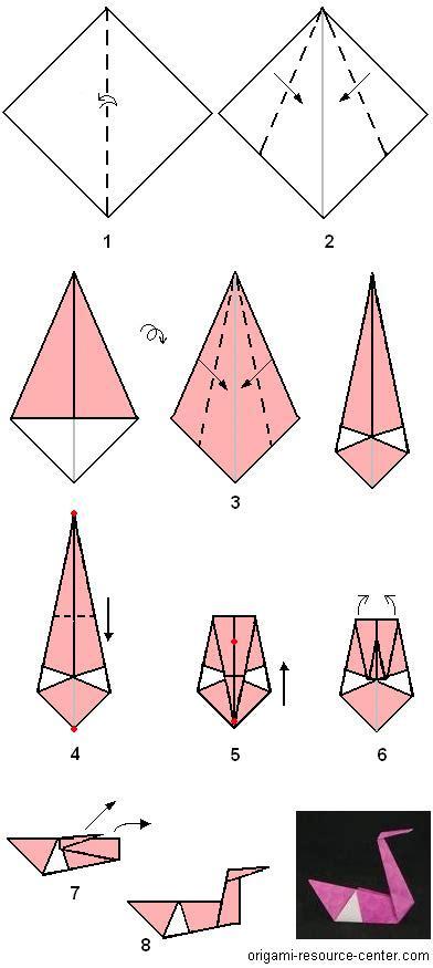make an origami origami swan