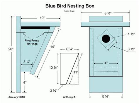 mountain bluebird house plans eastern bluebird house plans bluebird nest box plans