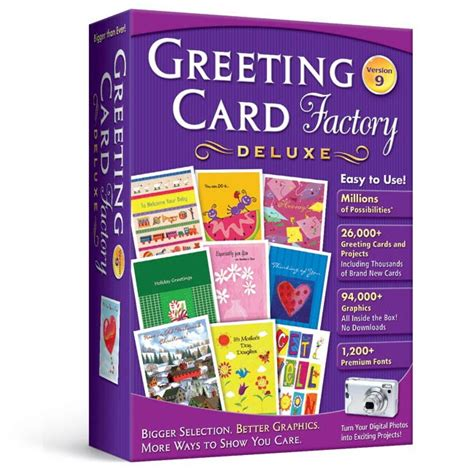 greeting card software free greeting card factory deluxe 10 upgrade greeting card