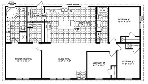 jacobsen mobile home floor plans 1000 to 1199 sq ft house plans home plans and floor plans