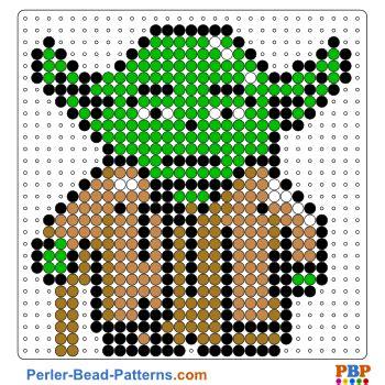 free hama bead patterns wars yoda perler bead pattern and designs bead