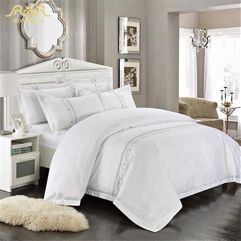 white bedding set aliexpress buy romorus wholesale hotel bedding set 4