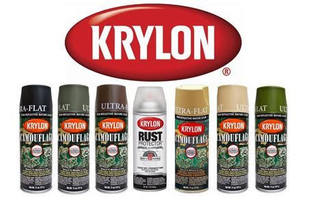 spray painter nz krylon camo paint 6 camo colours available combo 4