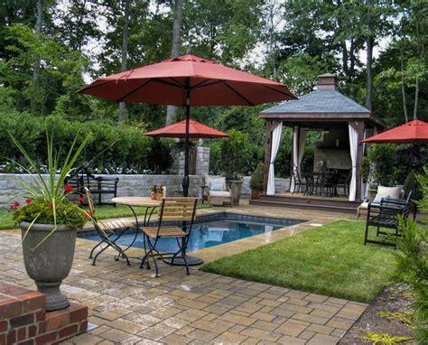 cabana for backyard backyard pool and cabana