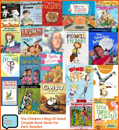 picture book series 20 great chapter book series for early readers the