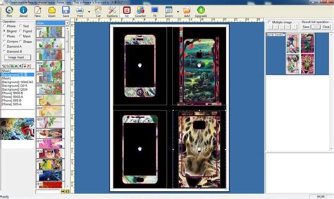 phone skin design software daqin mobile phone skins software custom mobile machine