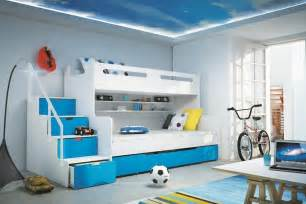 Cool Boys Bedroom Ideas boys bedroom ideas circular blue rug wooden bed ladder