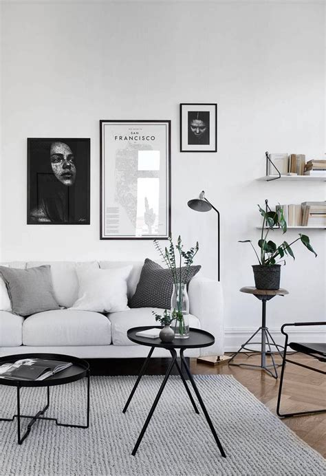 interior home decor best 25 monochrome interior ideas on black