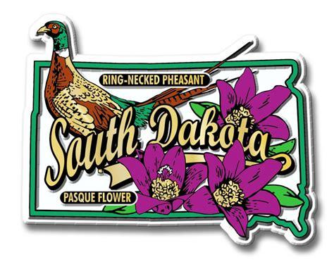state bird of south dakota state bird flower magnet south dakota