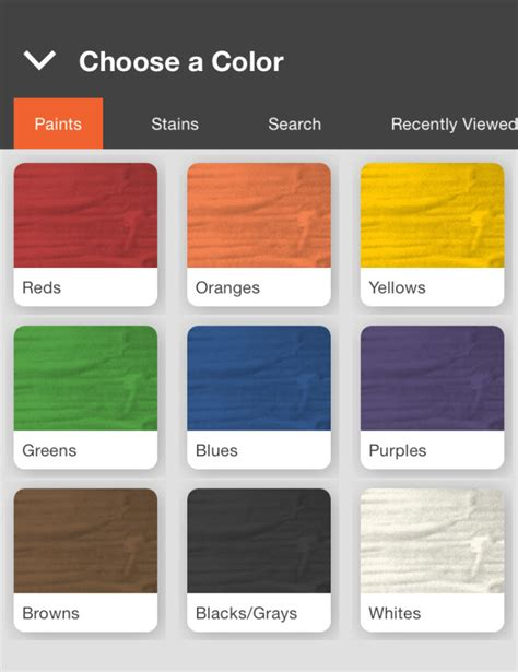 home depot new paint colors home depot s project paint app adds color to omnichannel