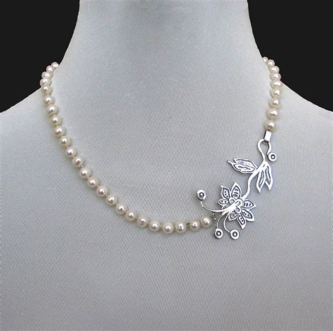 jewelry designs contemporary jewelry designer necklace of pearls