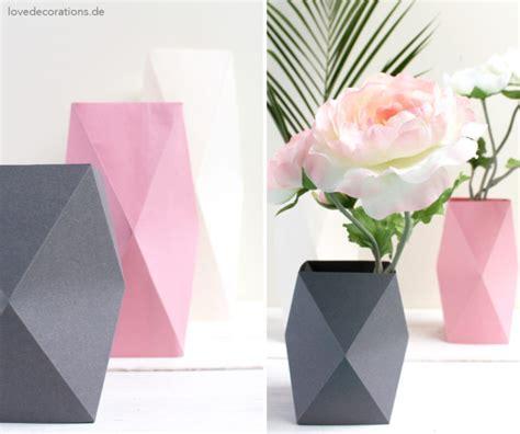 vase origami diy origami vase 4 und meine besondere beziehung zu