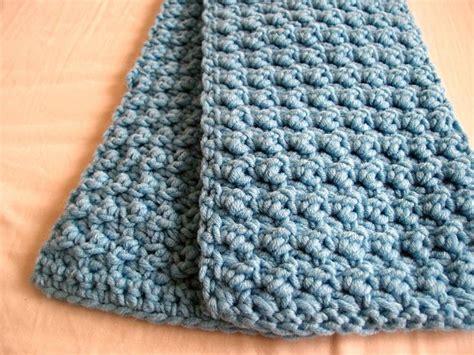 is crochet or knitting easier scarf crochet pattern free crochet and knit
