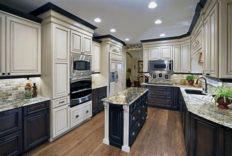 two color kitchen cabinets ideas home decor interior exterior