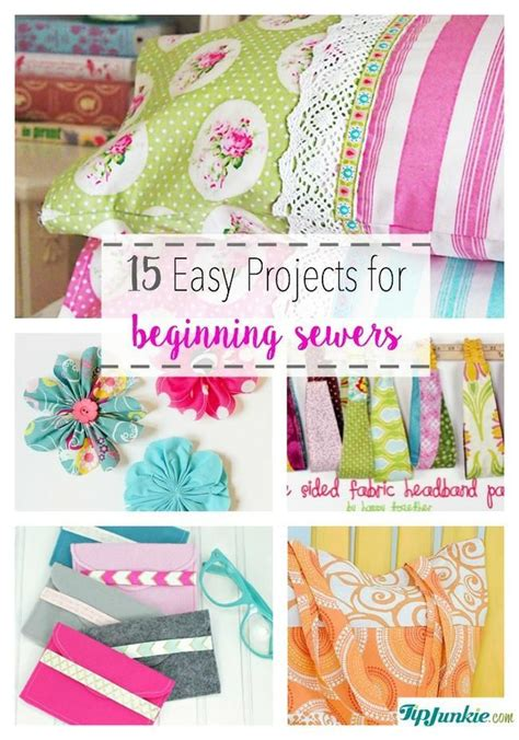 easy sewing crafts for 25 best ideas about sewing machine projects on