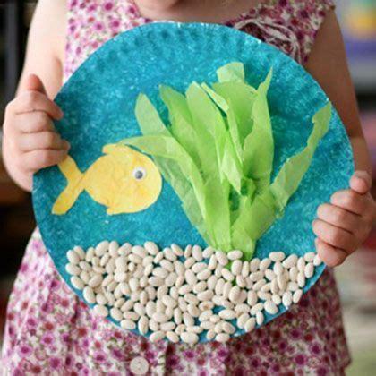 paper fish bowl craft toddler crafts southern