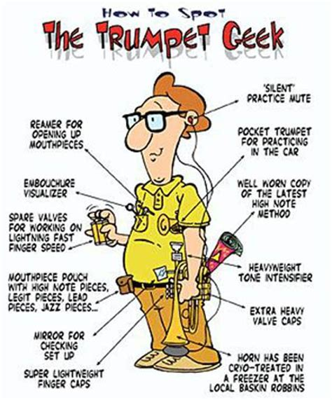 how to spot the trumpet geek giocoso pinterest the o