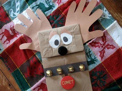 reindeer paper craft tree ornament lullabuy s