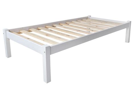 charlene solid white divan bed frame only