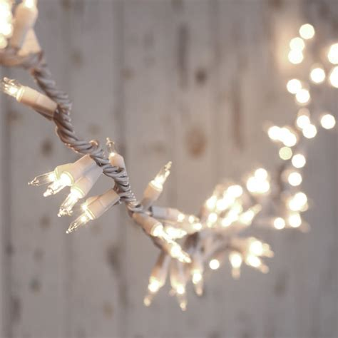 white cord string lights clear bulb and white cord cluster string lights lighting