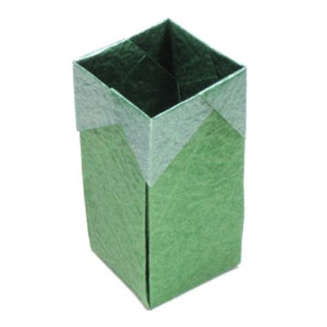 how to make a big origami box how to make a square origami box page 1