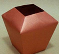 easy origami vase 1000 images about origami contenant on