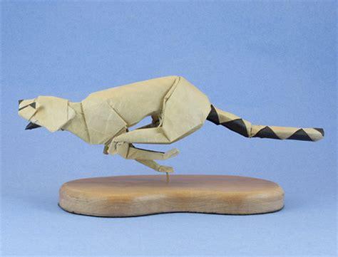 origami cheetah origami animals
