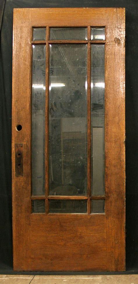 exterior glass door 36 quot x84 quot antique exterior entry white oak wood door 9