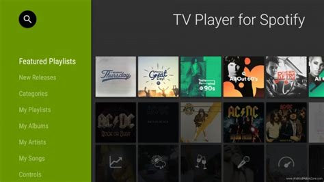Spotify Modded App Apk by Spotify For Android Tv Apk V1 3 1 Mod Android