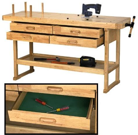 woodworking vise harbor freight cheap workbench design 60 quot hardwood workbench