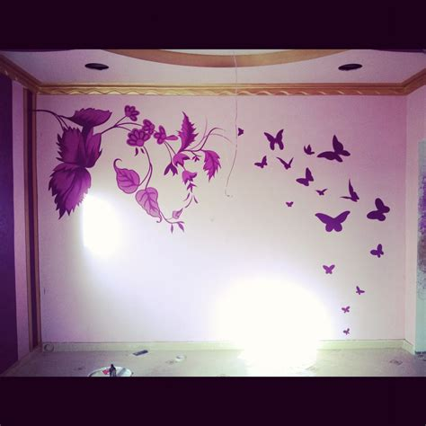 wall paint design ideas decorations wall design ideas stencil and painted