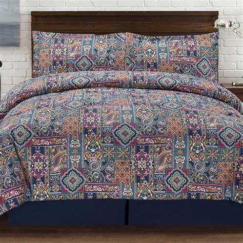 multi colored comforter sets tao tones 4 multi colored comforter set