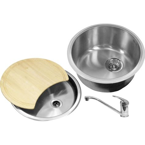 bowl kitchen sinks bowl kitchen sink drainer kit 440 x 185mm