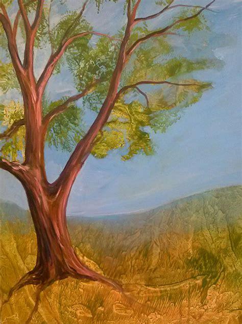 acrylic painting mediums vert tree2