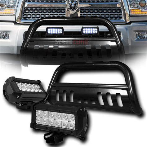 ram 2500 led light bar 2010 2015 dodge ram 2500 3500 front bull bar guard 36w