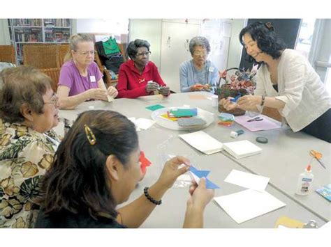origami classes for ancient a benefit for seniors
