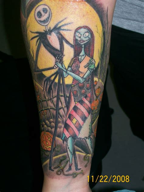 jack and sally tattoo picture