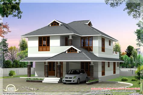 4 room house 1760 sq beautiful 4 bedroom house plan kerala home design and floor plans