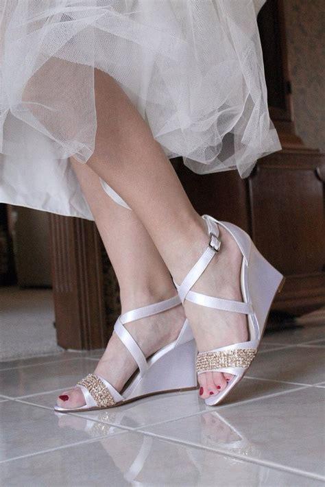 beaded wedding wedges wedding shoes low heel high heel wedge sandals bridal